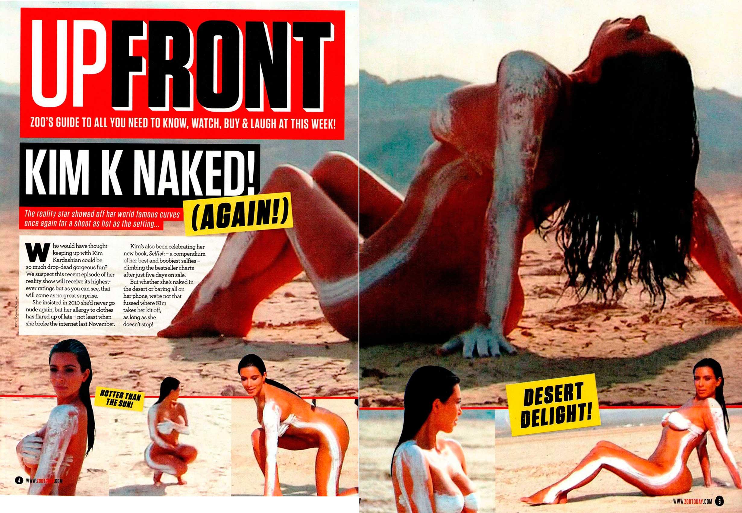 Kim Kardashian Nude Pic