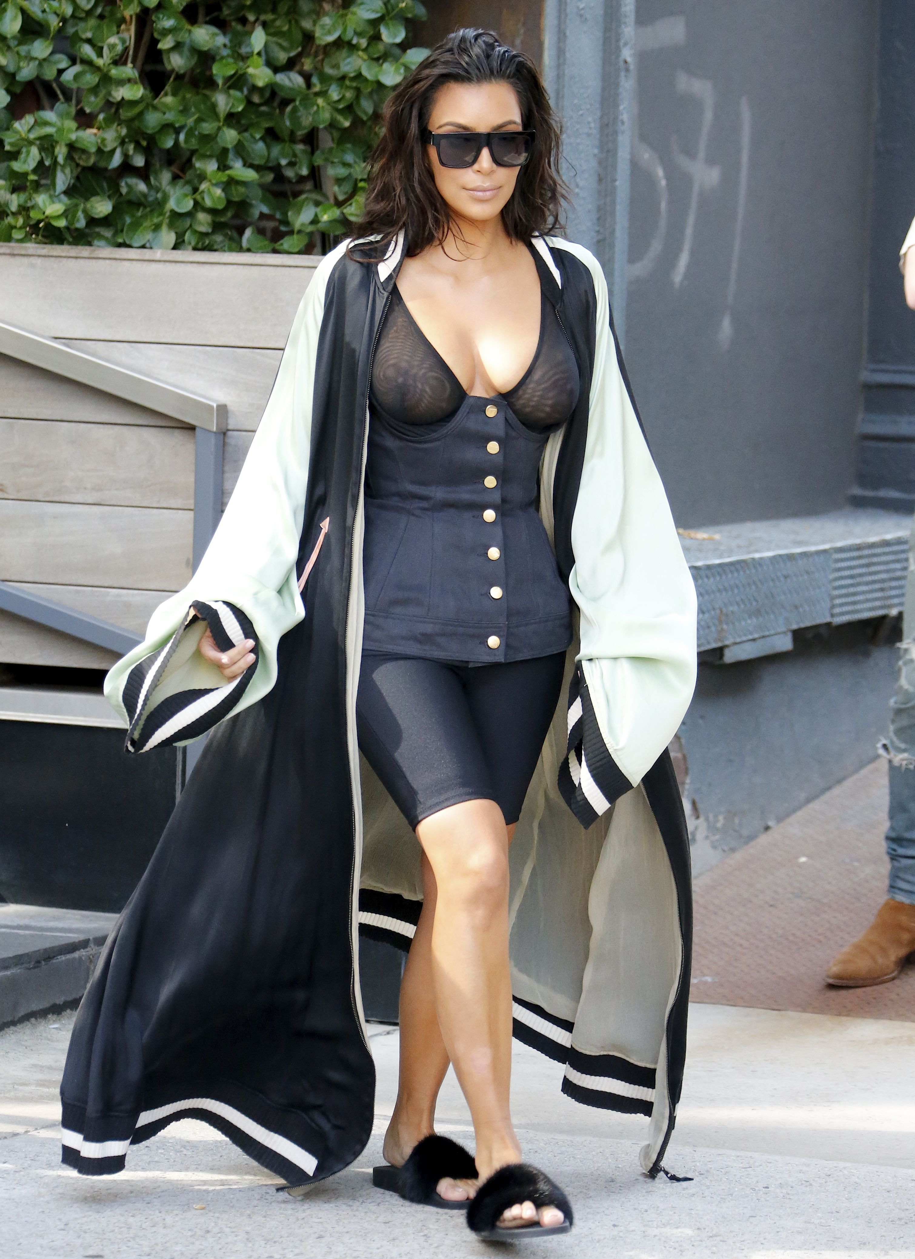 Kim Kardashian See-throug...