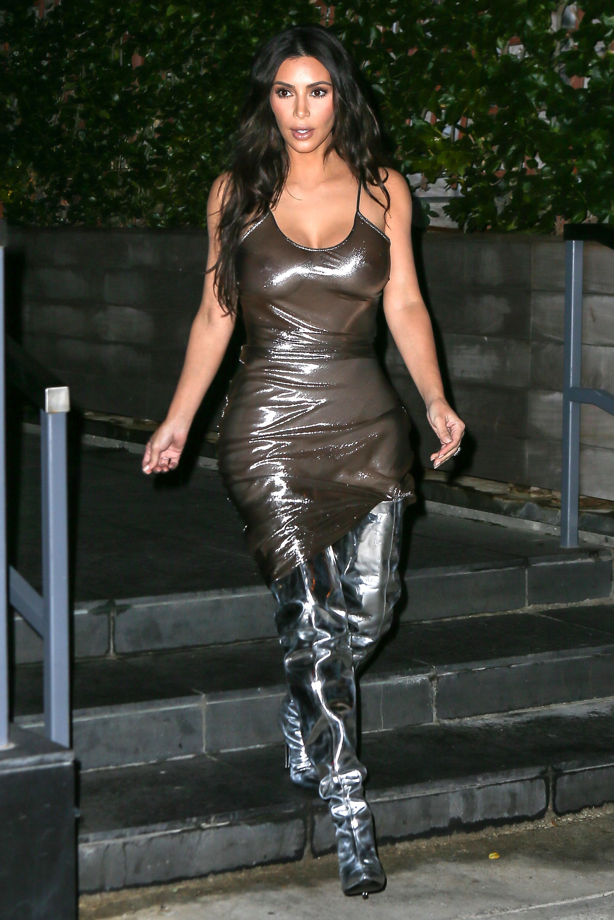 See-through Photos Of Kim...