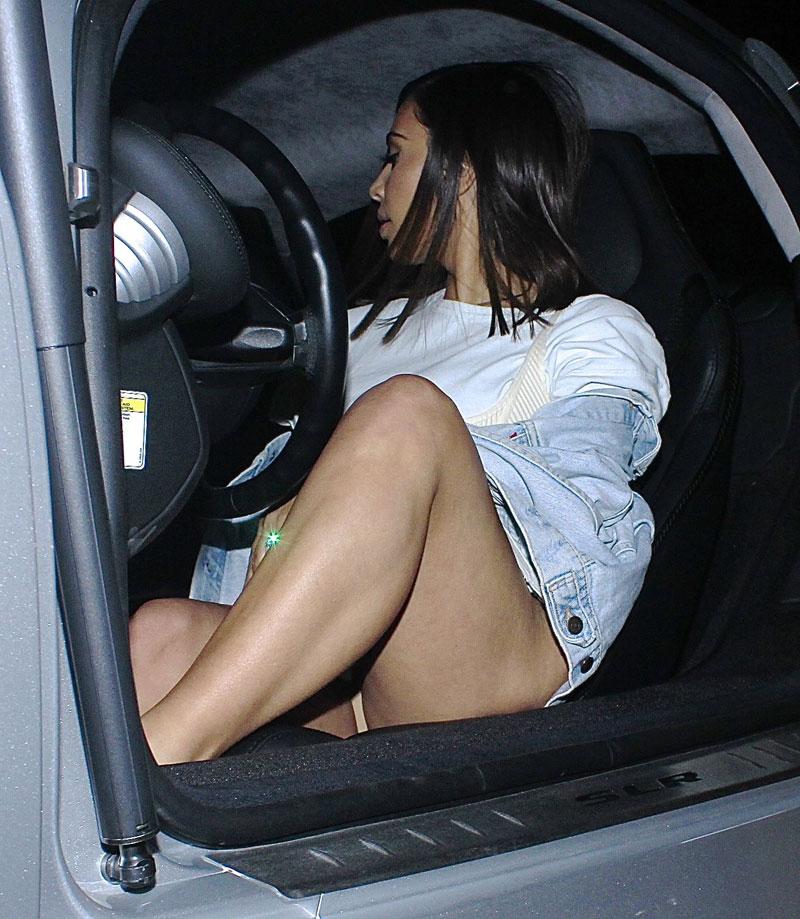 Kim Kardashian Upskirt Ph...