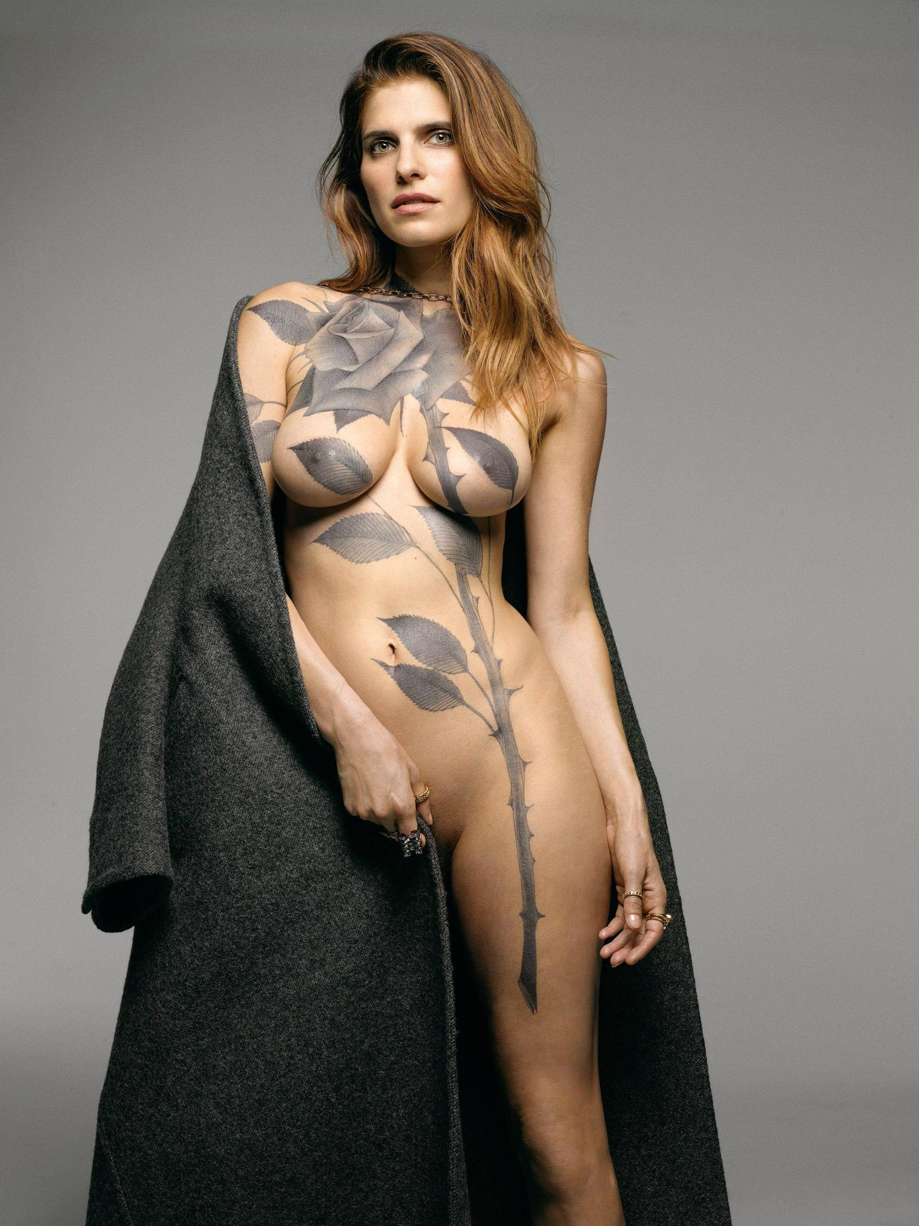 Lake Bell Body Art