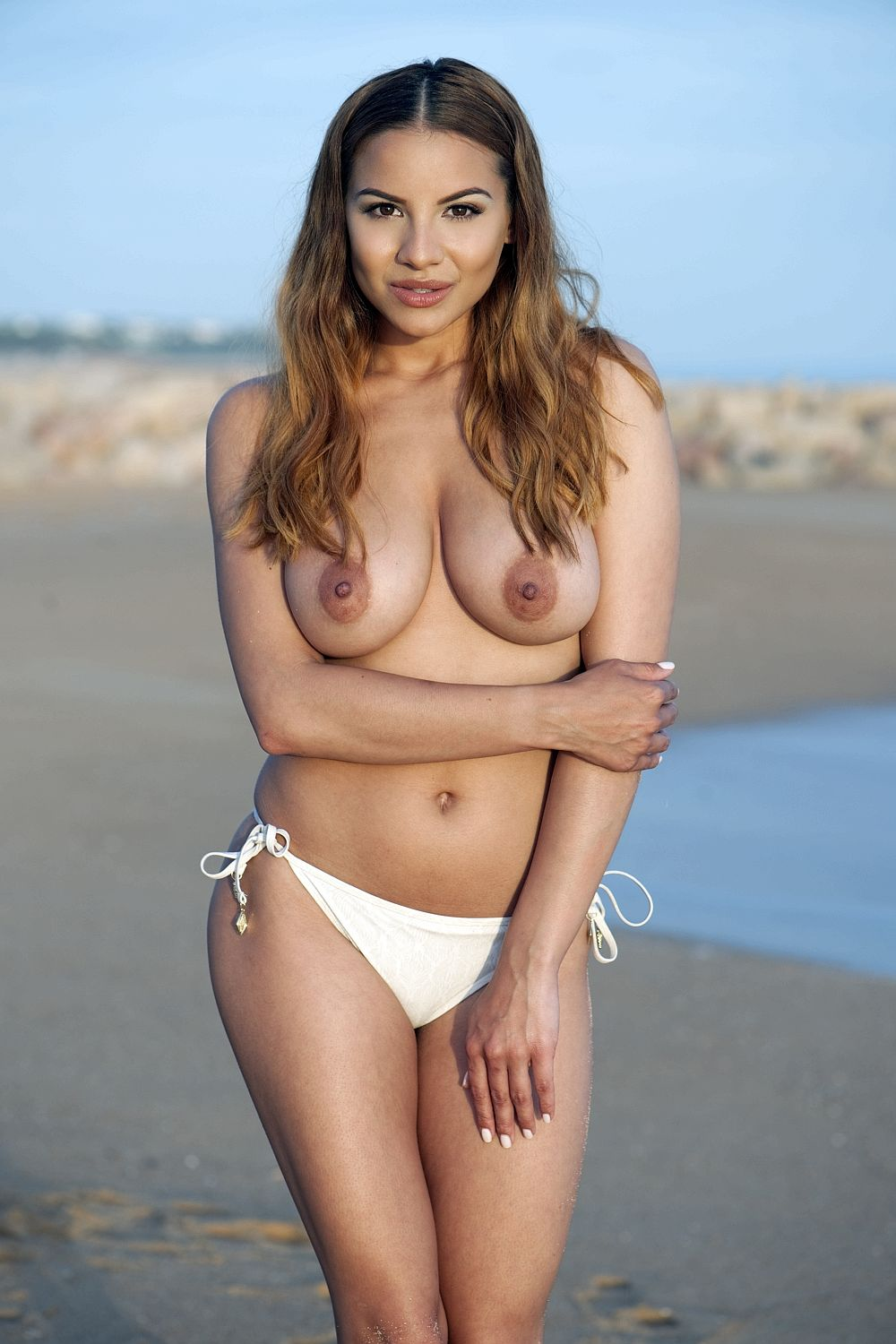 Lacey Banghard Topless Ph...