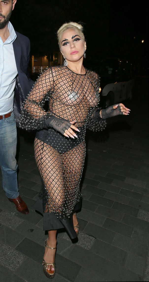 Lady Gaga See-thru photos 1