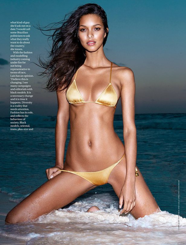 Lais Ribeiro Bikini Photo...