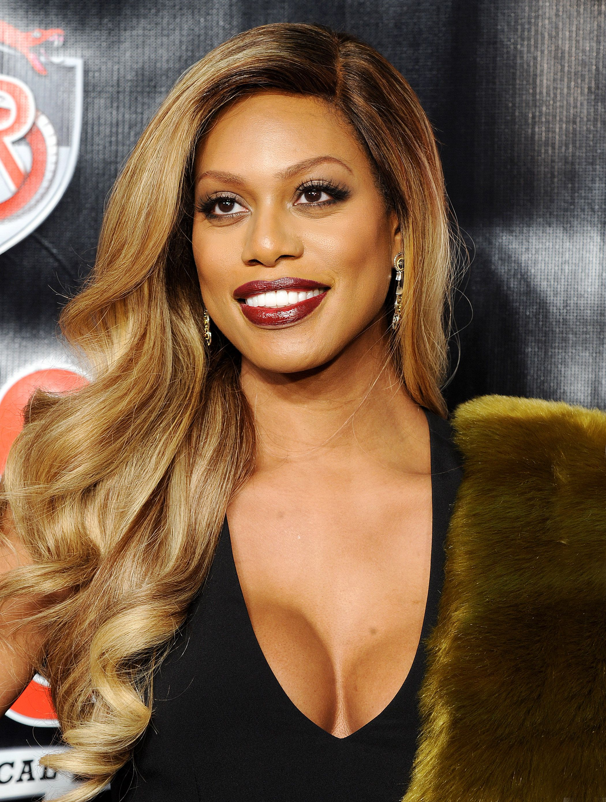 Laverne Cox Cleavage Phot...