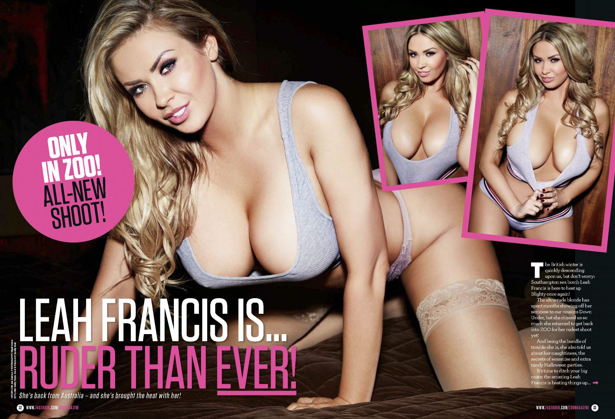 Leah Francis Sexy Photos