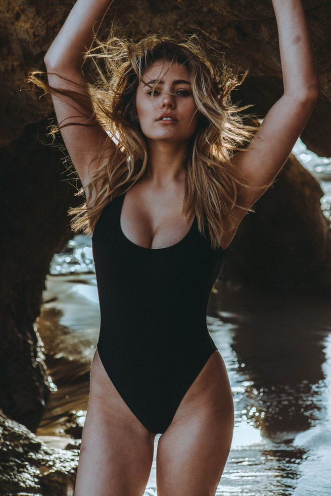 Lia Marie Johnson Swimsui...
