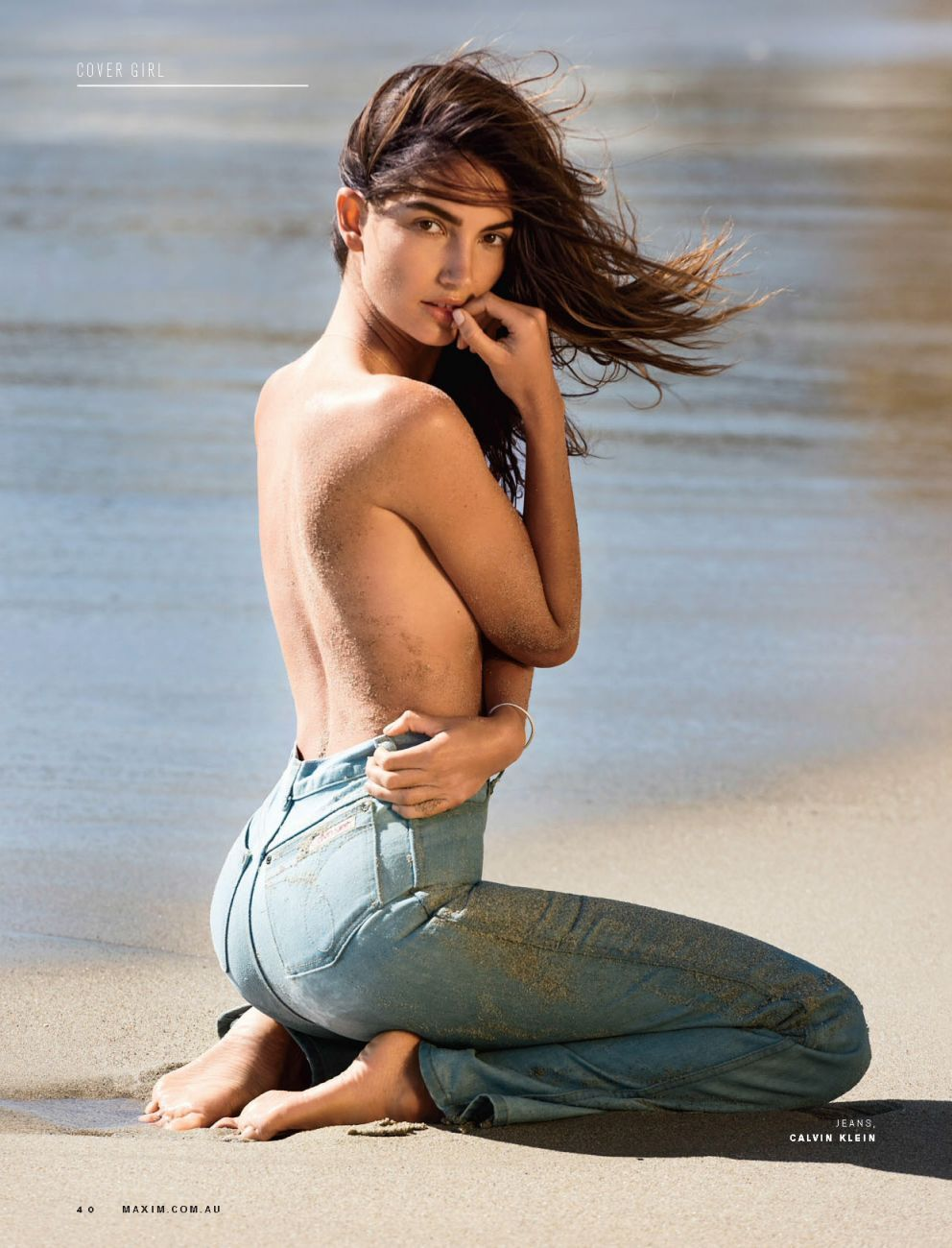Lily Aldridge Topless Pho...