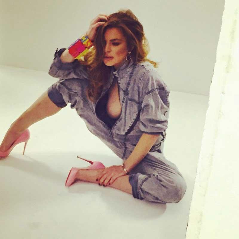 Lindsay Lohan Nipslip