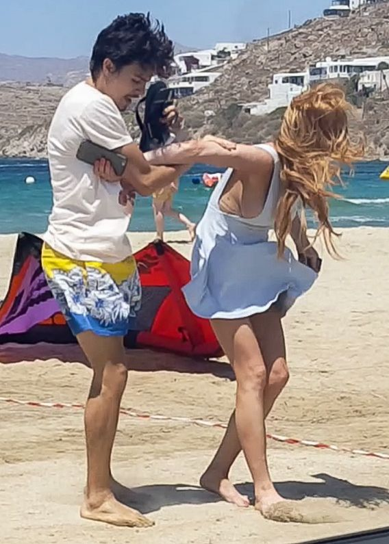 Lindsay Lohan Boobslip Ph...