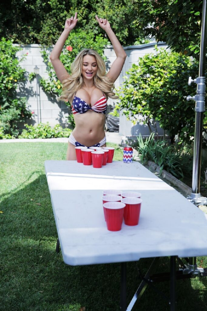 Lindsey Pelas Sexy Bikini...