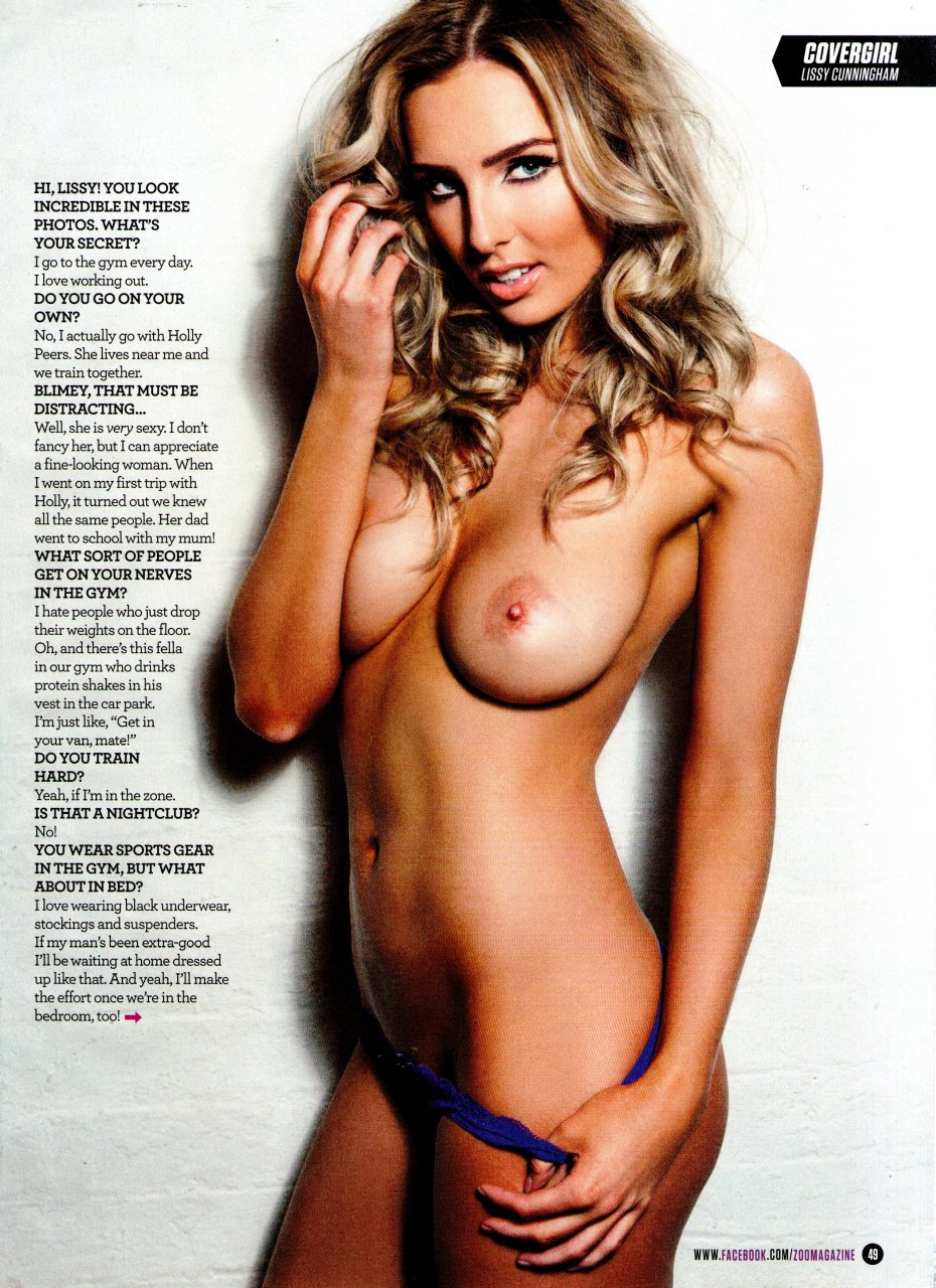 Lissy Cunningham Topless pics 1