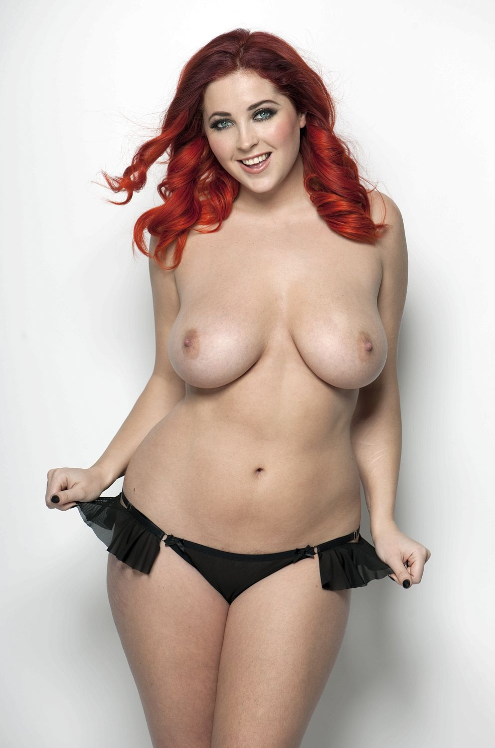 Lucy Collett Topless Phot...