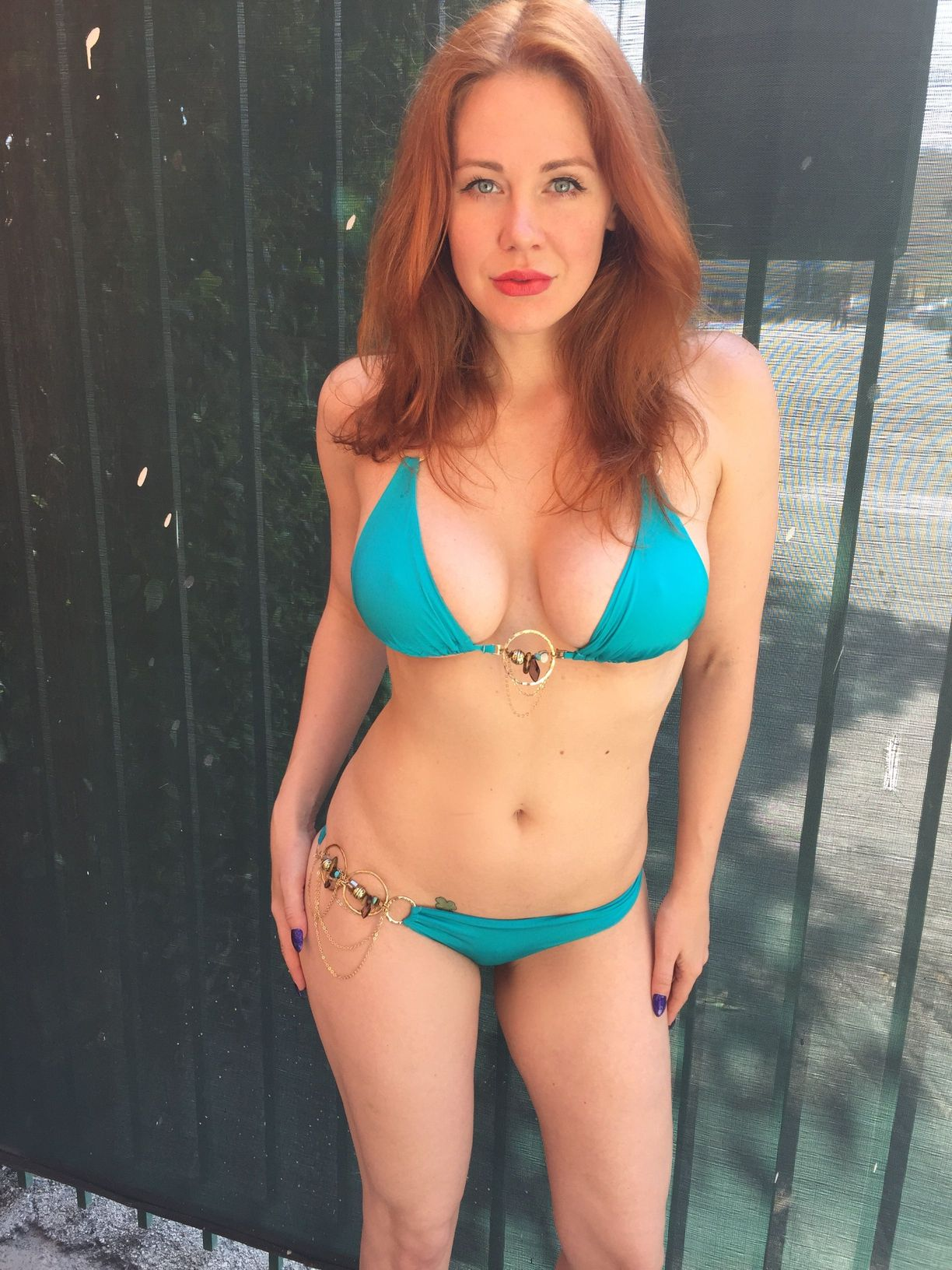 Maitland Ward Bikini Phot...