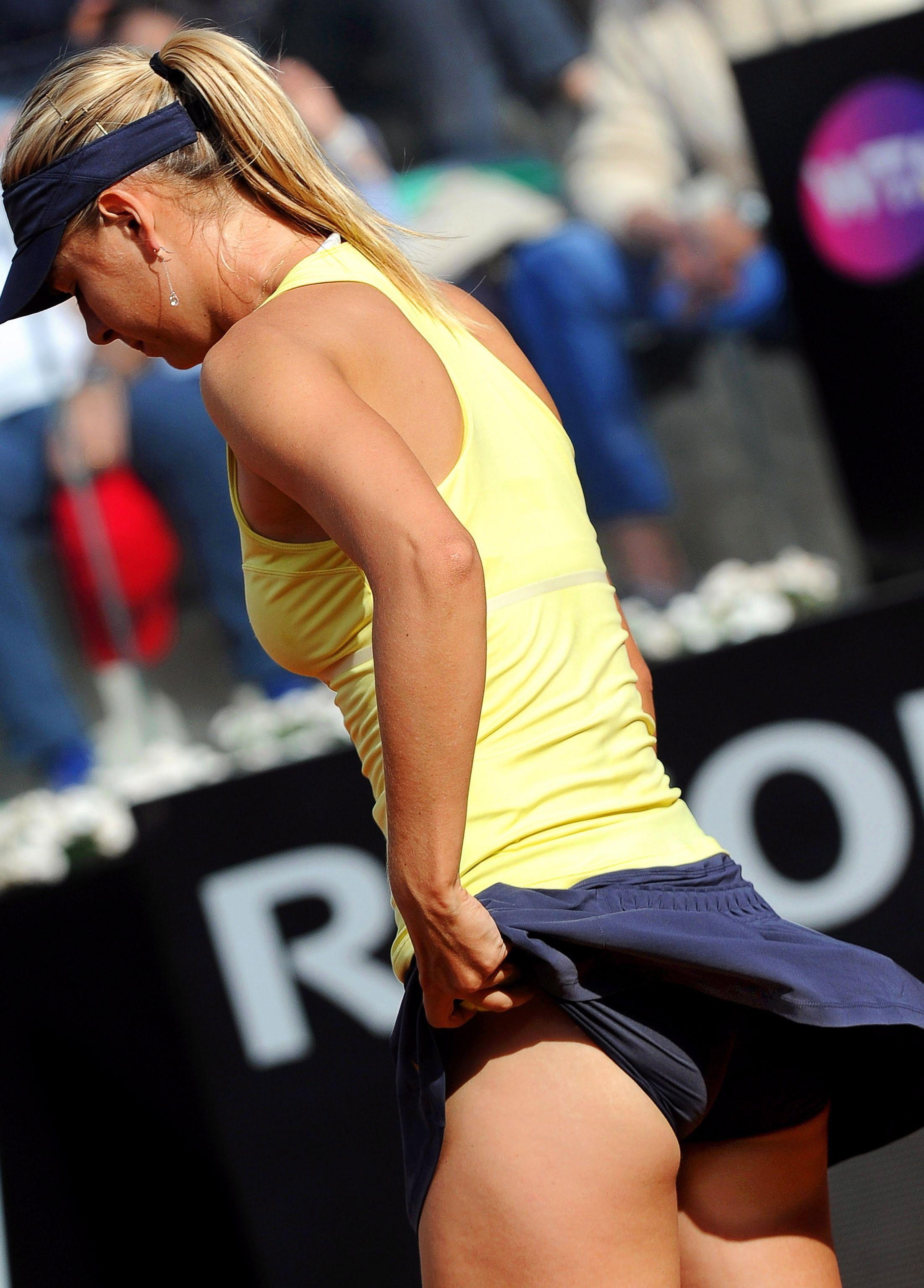 Maria Sharapova Upskirt P...