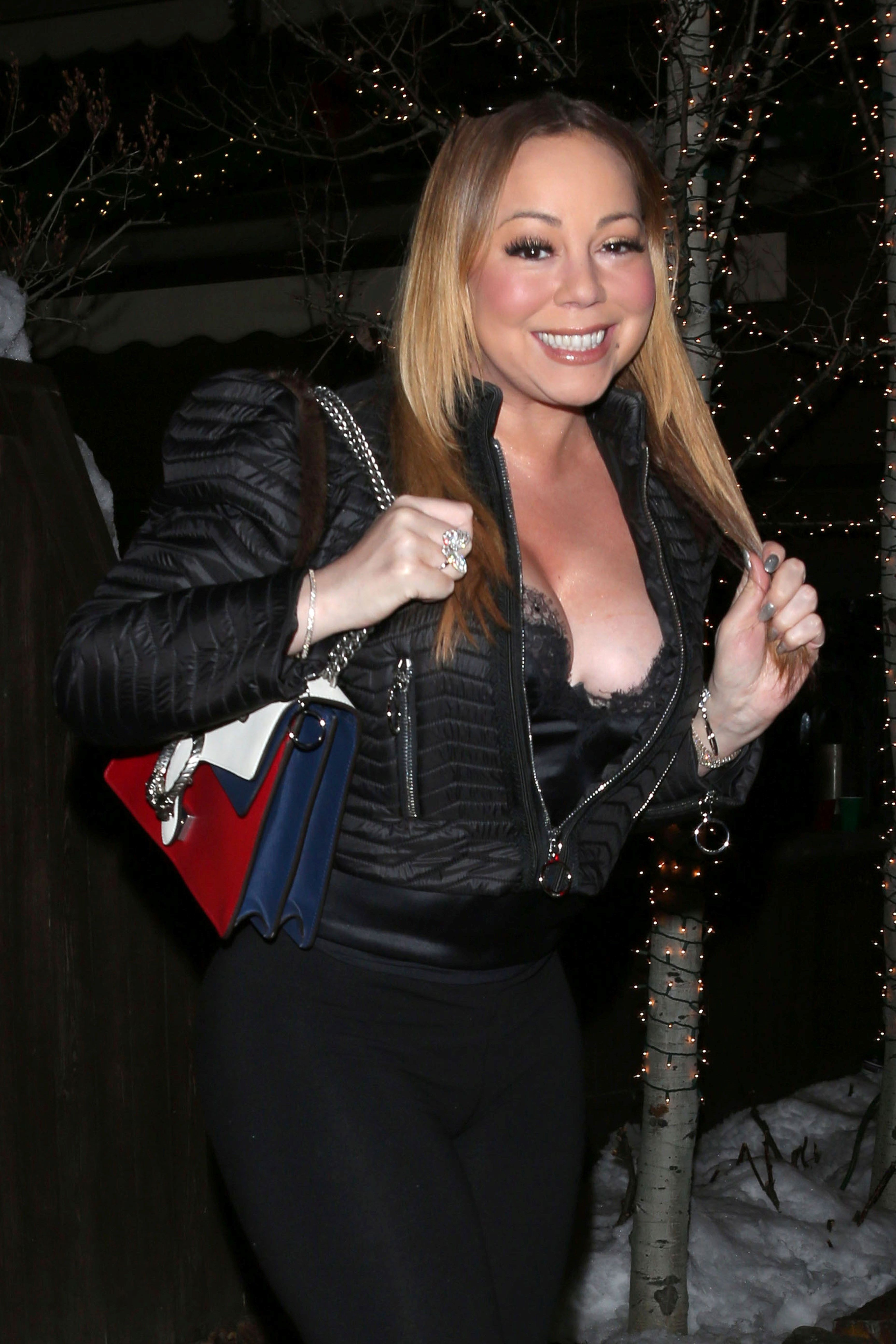 Cleavage Photos Of Mariah...