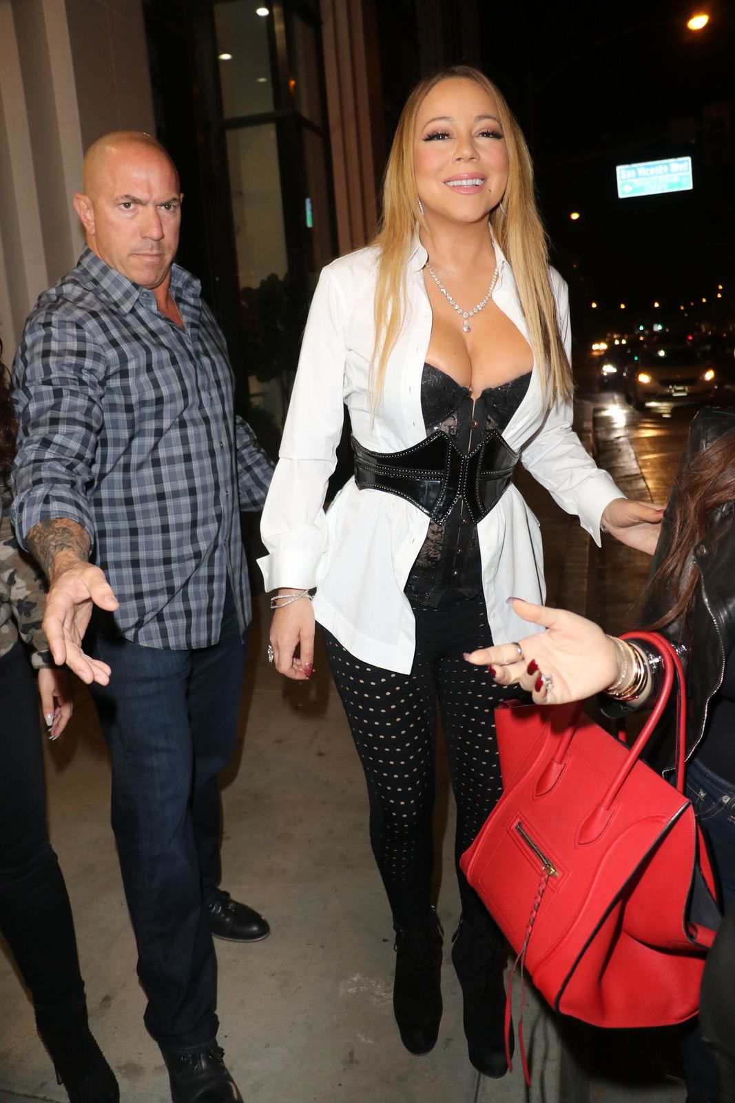 Mariah Carey Cleavage Pho...