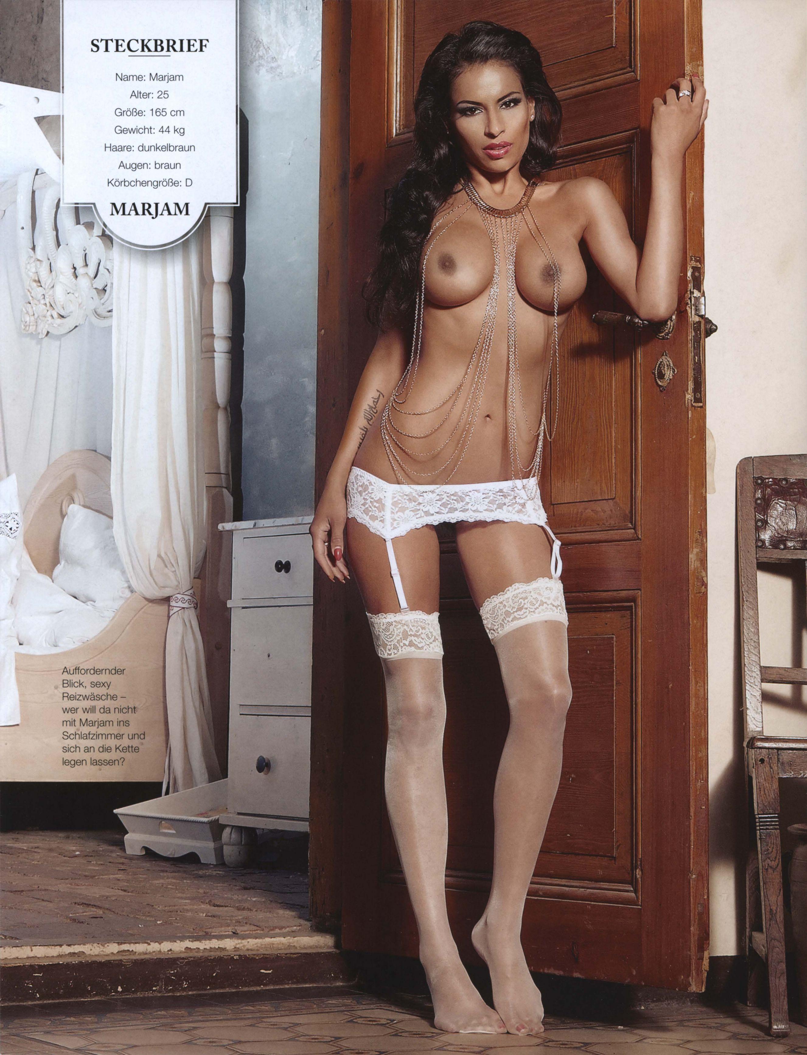 Marjam Sexy Nude Photosho...