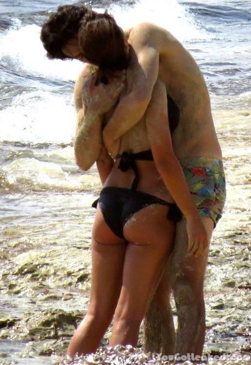 Topless Megan Montaner