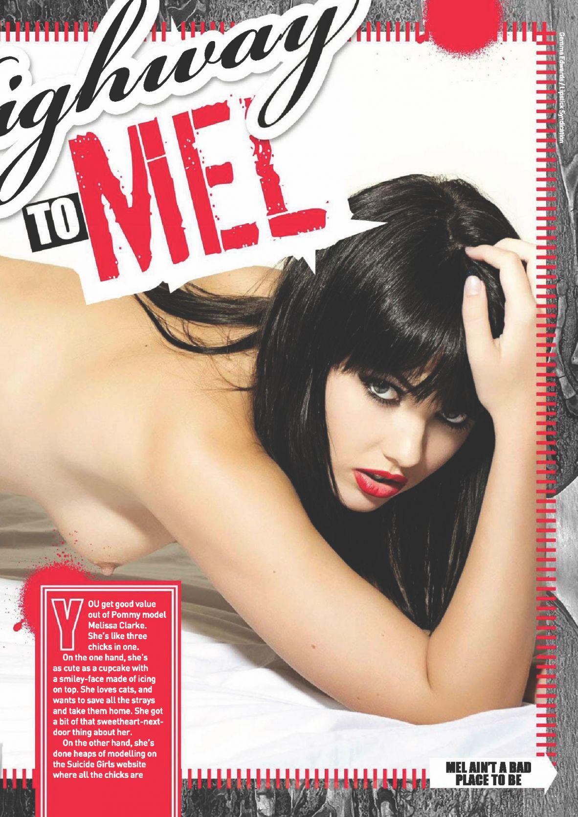 Melissa Clarke Topless Pi...