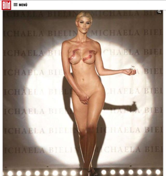 Micaela Schäfer Naked Pi...