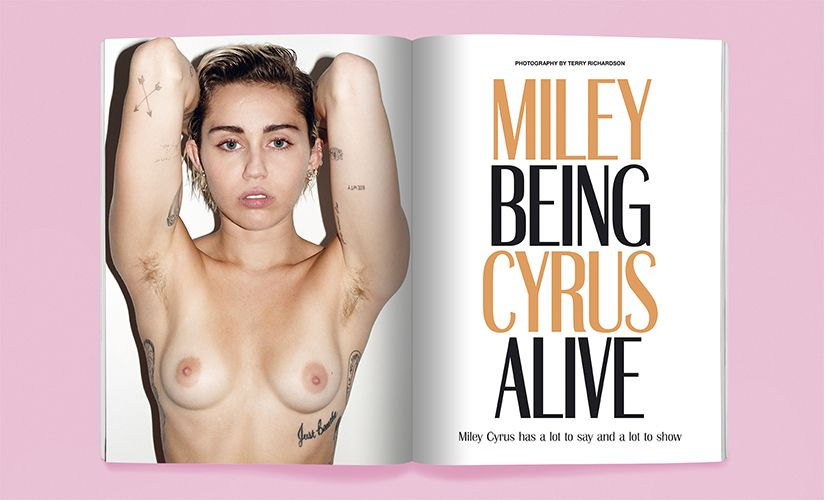 Naked Photos Of Miley Cyr...