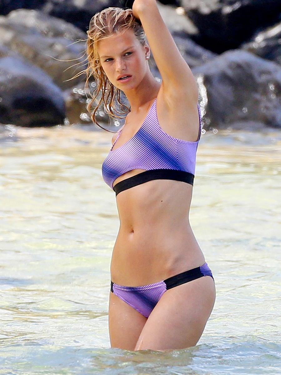 Nadine Leopold Bikini Pic...