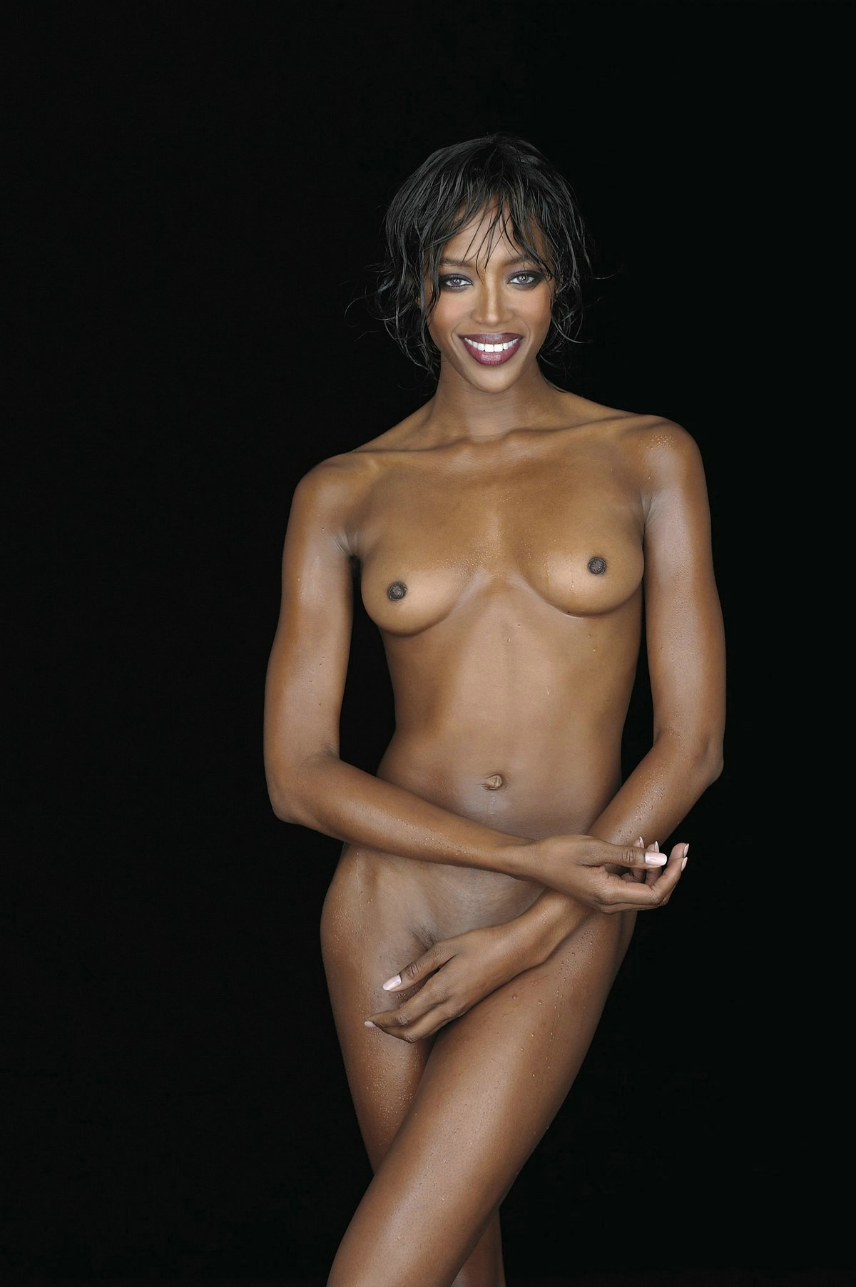 Naomi Campbell Naked