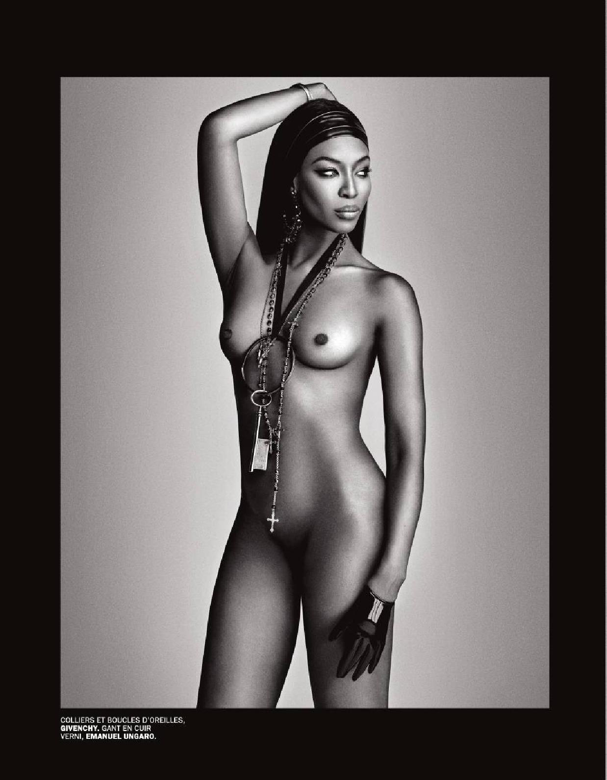 Naomi Campbell Topless Ph...