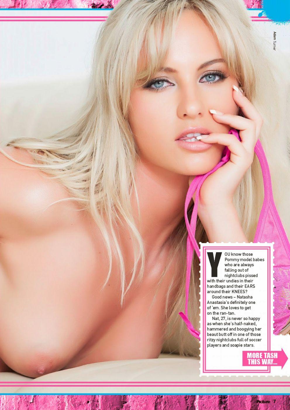 Natasha Anastasia Topless...