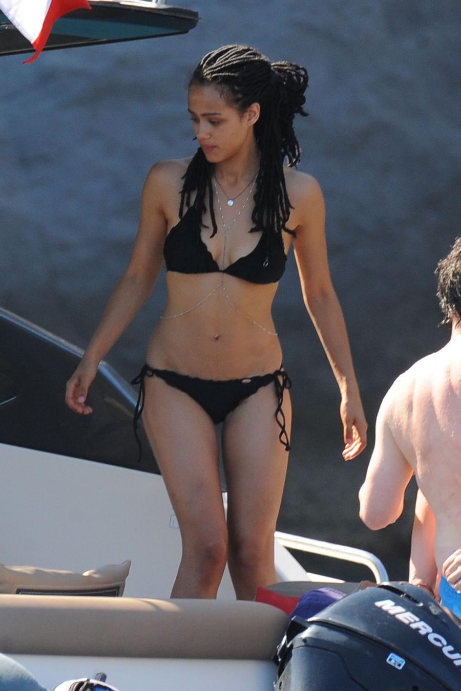 Nathalie Emmanuel Bikini ...