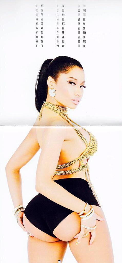 Nicki Minaj's 2015 Cale...