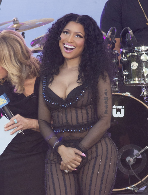 Nicki Minaj See-through P...