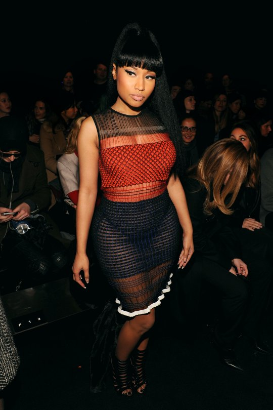 Nicki Minaj See-thru Dres...