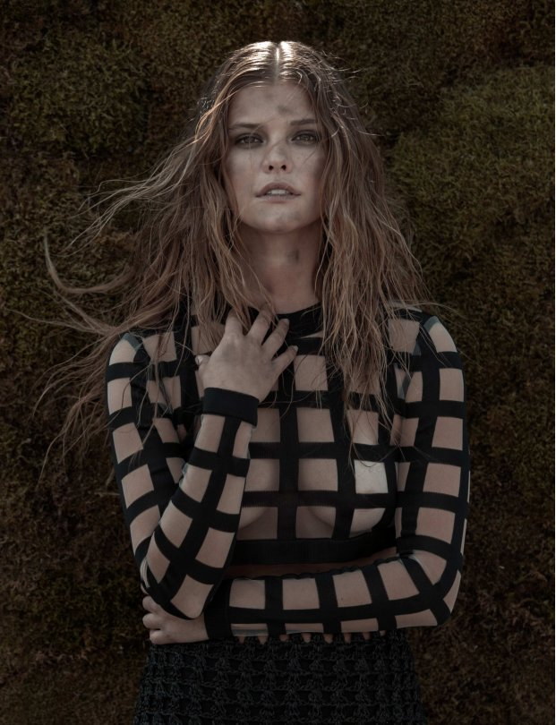 Nina Agdal See-thru Photo...