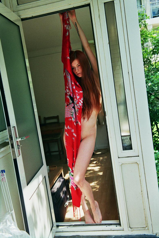 Nina Sever's Naked ...