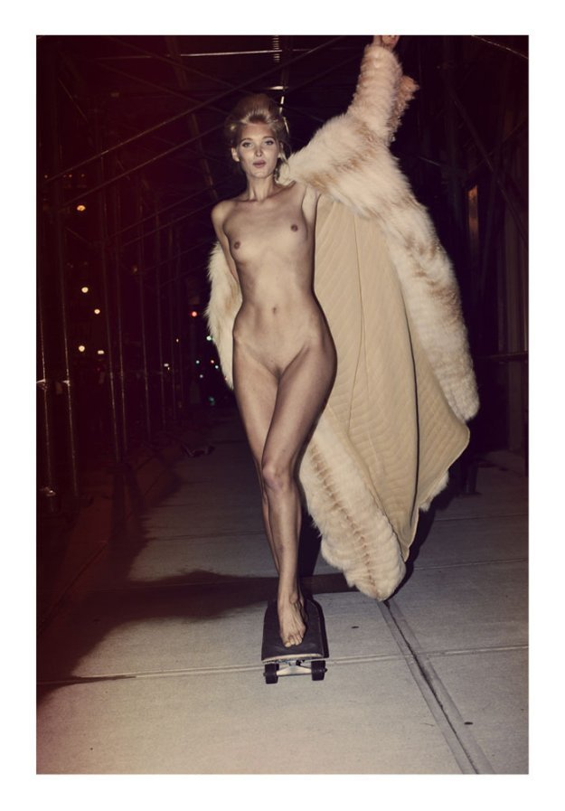 Nude Elsa Hosk Photos