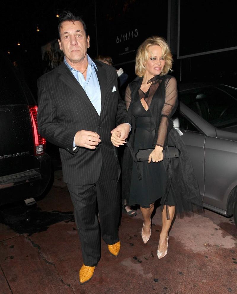 Pamela Anderson See-thru ...