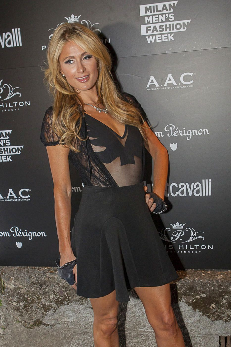 Paris Hilton Nipple Slip