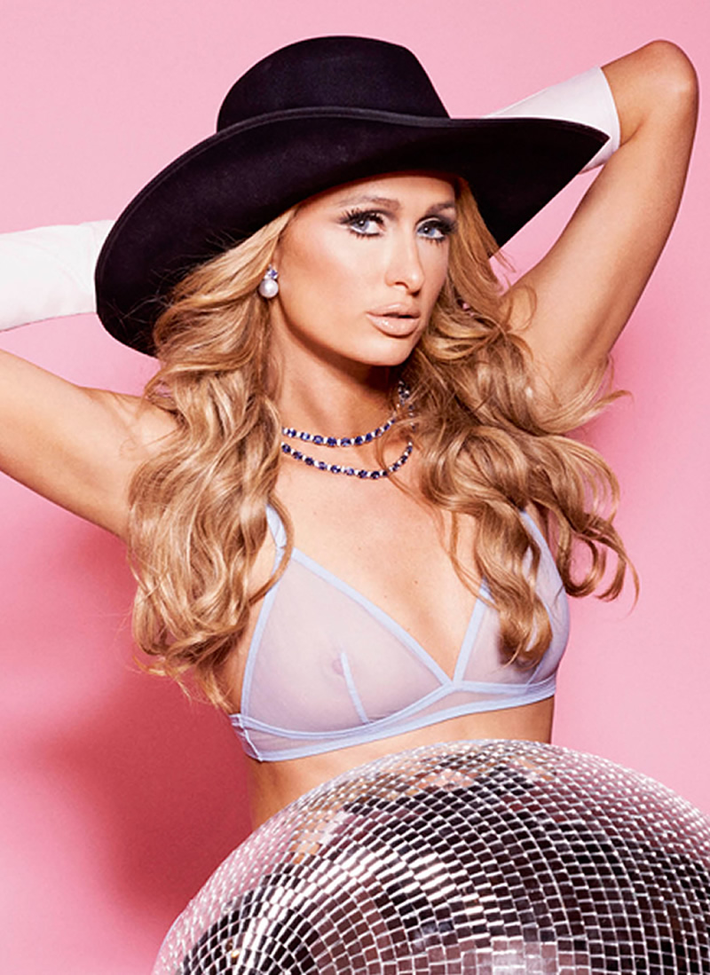 Paris Hilton See-thru Bra