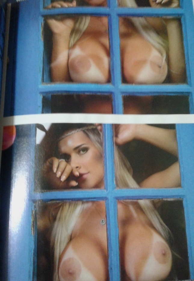 Rafaela Ravena Topless Ph...