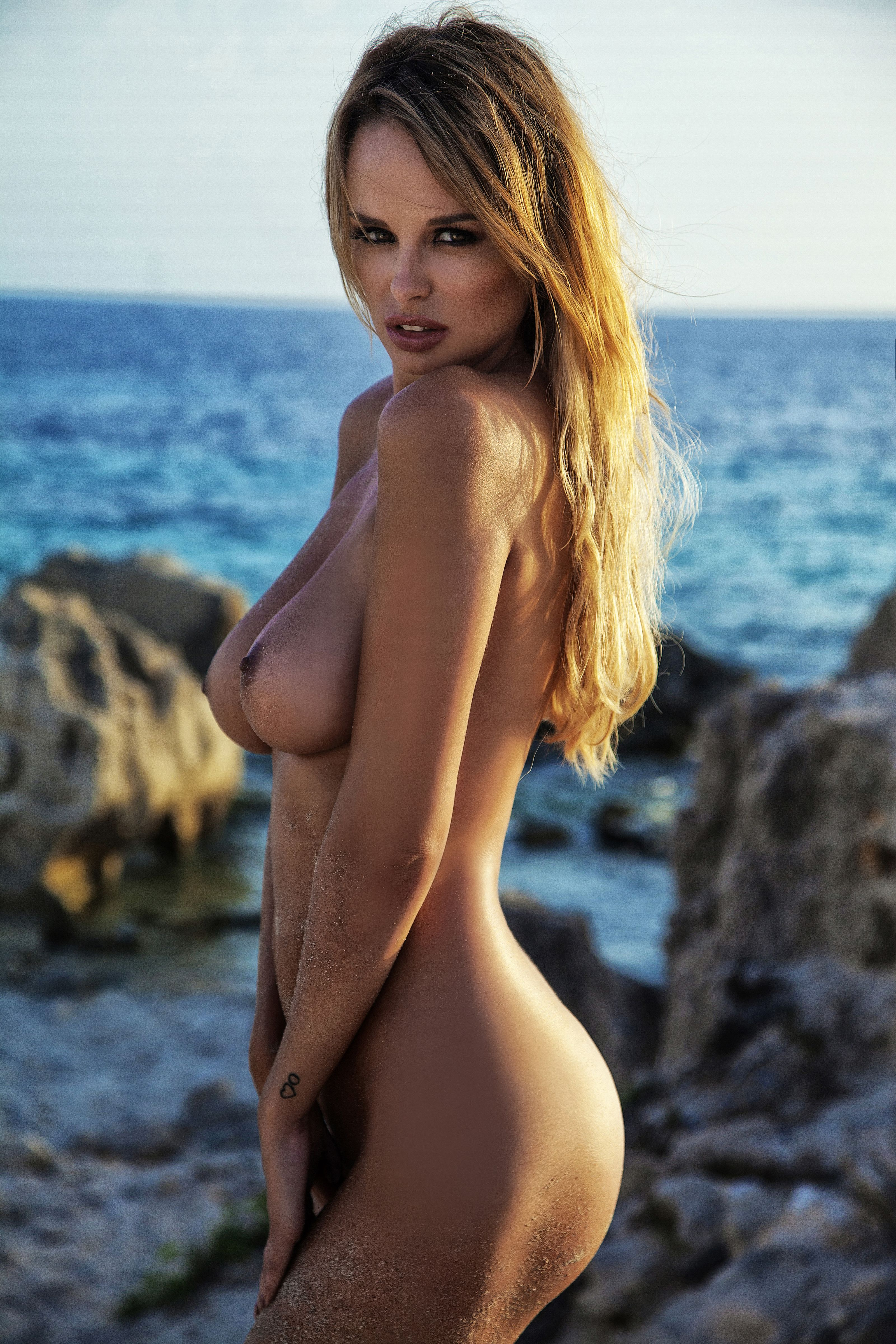 Rhian Sugden topless photoshoot (2)