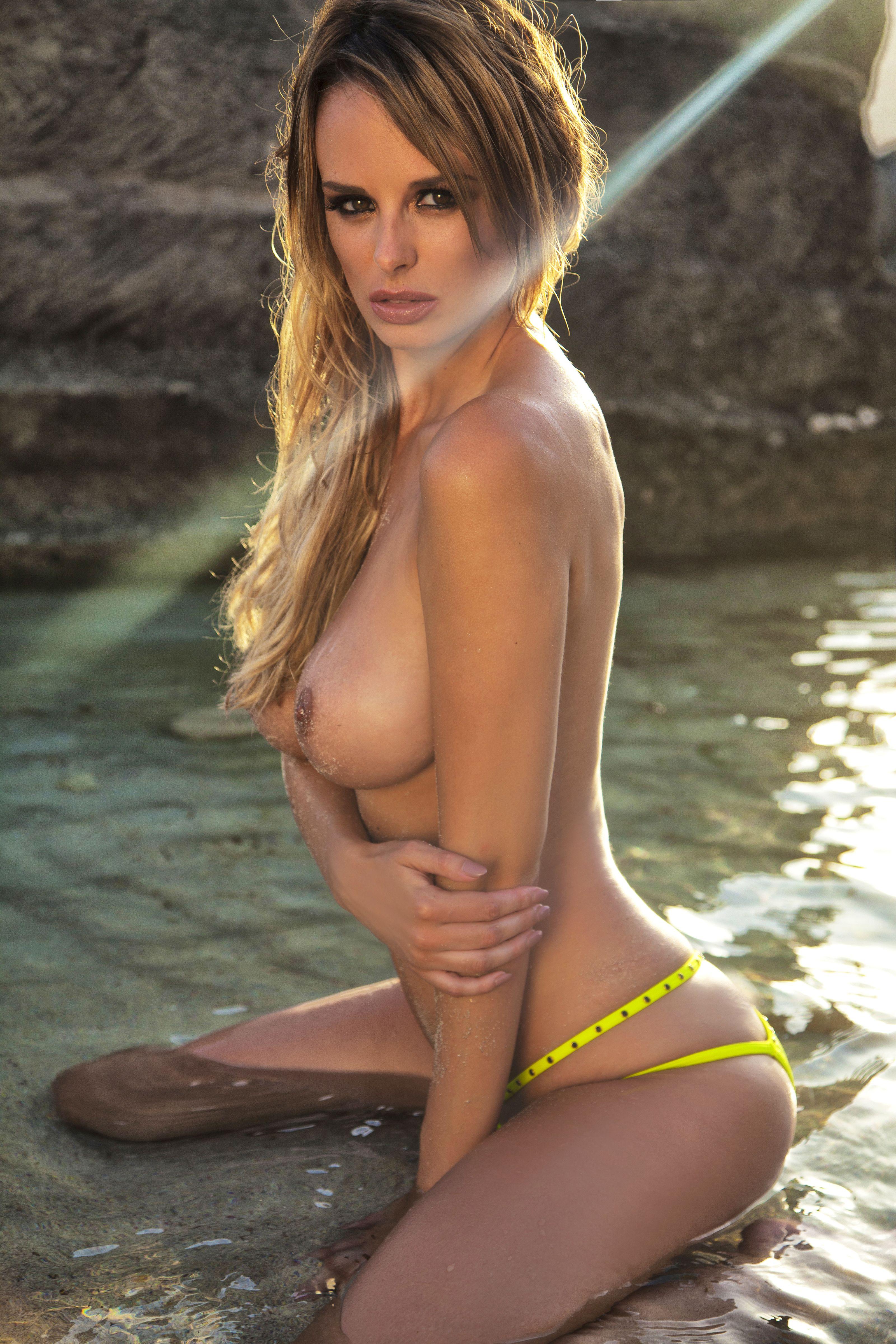 Rhian Sugden Topless Phot...