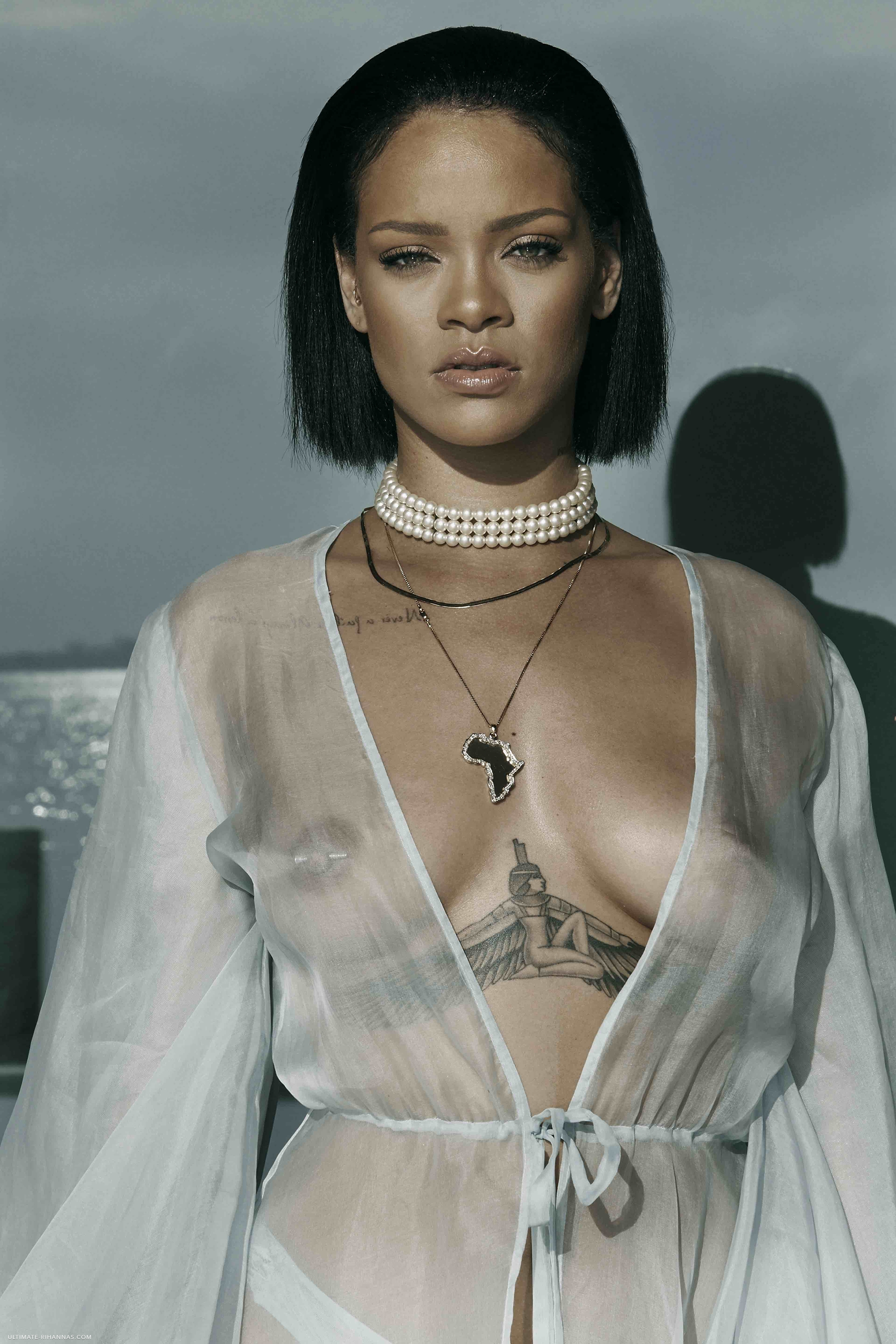 See-through Photos Of Rih...