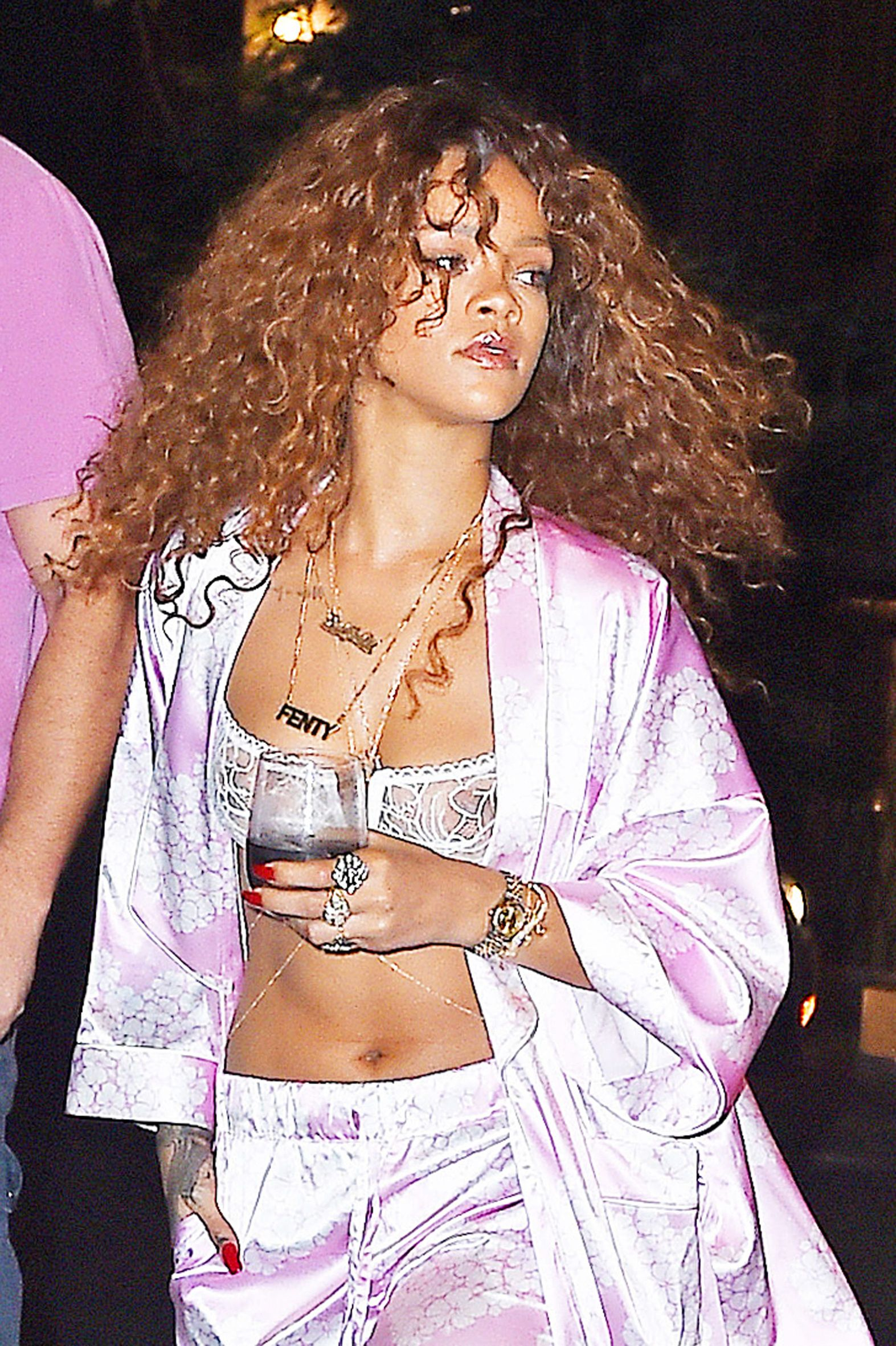 Rihanna See Through Pics
