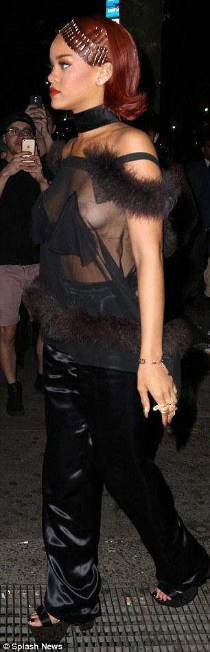 Rihanna See-thru Pics