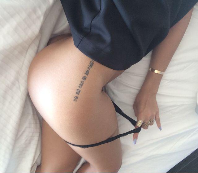 Rihanna Naked