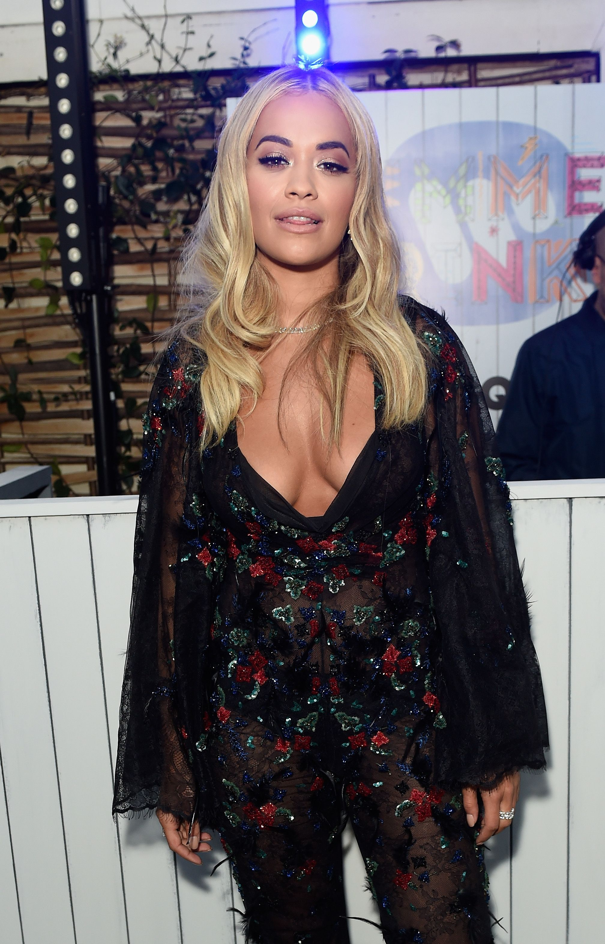Cleavage Photos Of Rita O...