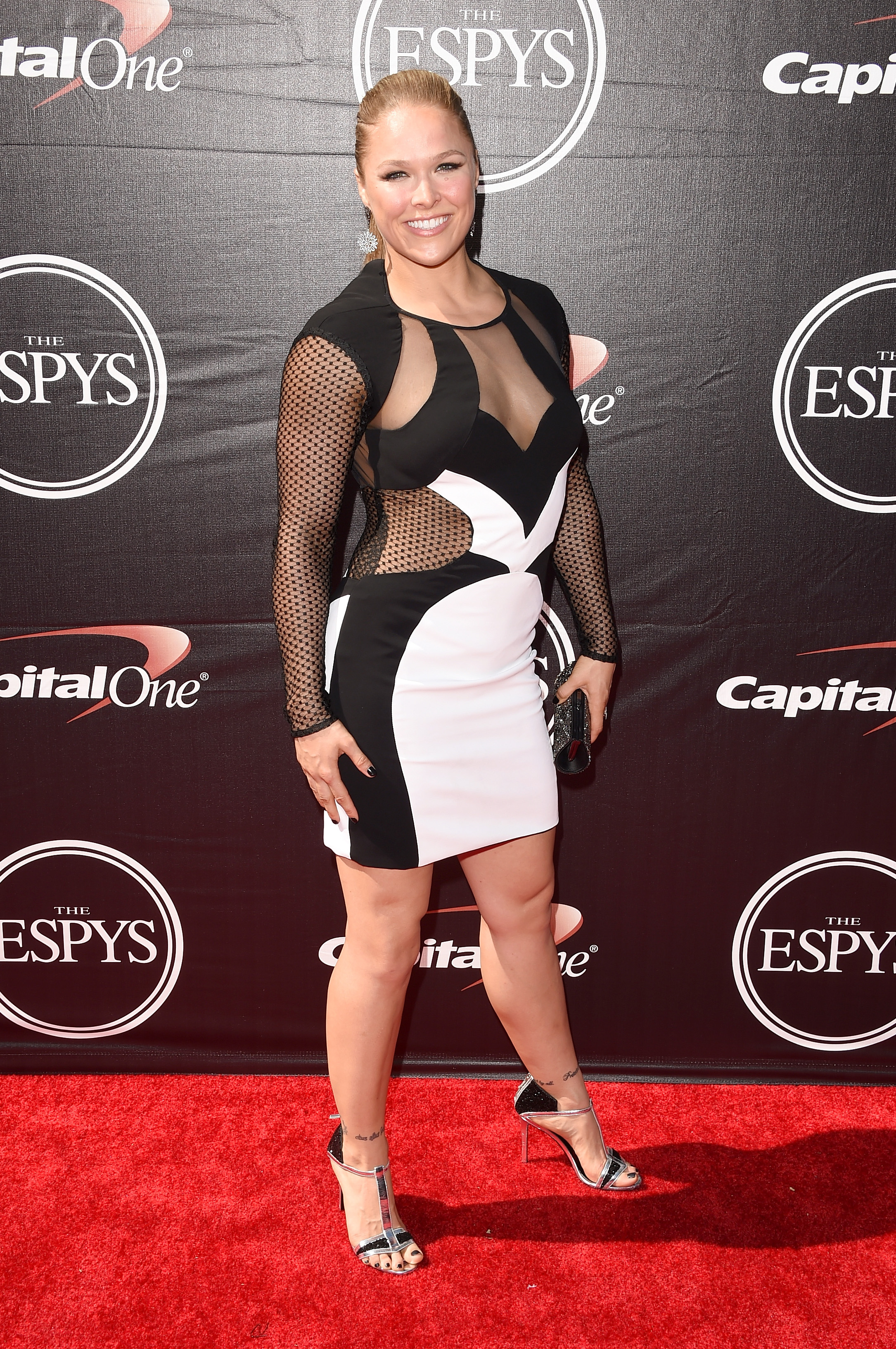 Ronda Rousey Sexy Dress P...