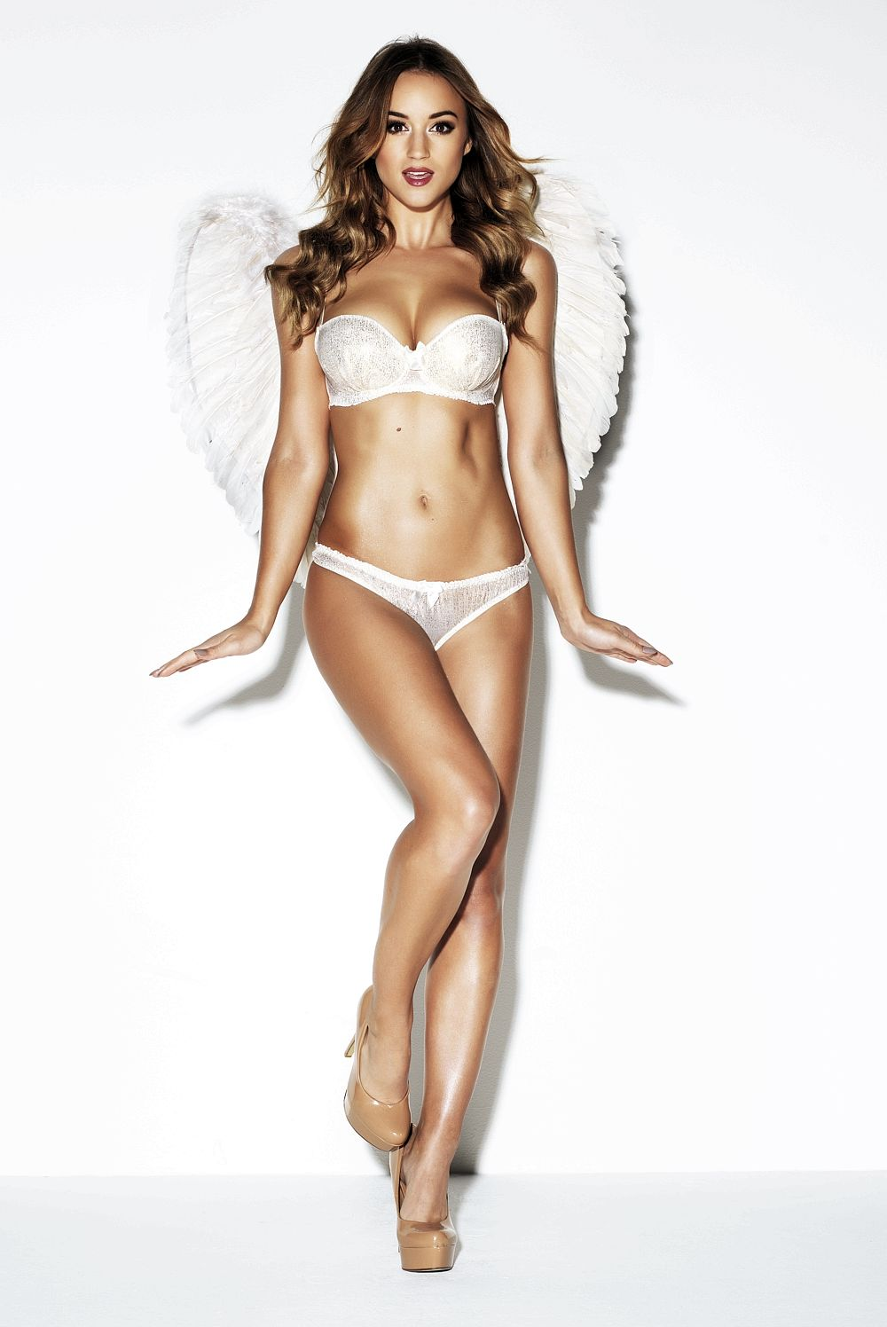 Angel Rosie Jones Topless...